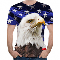 Golden Eagle sublimated 3D T-Shirt