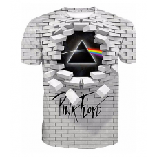 Pink floyd sublimated 3D T-Shirt