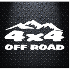 4x4 stickers decals off road 200 mm X 100 mm Vinyl Decal Sticker