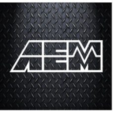 AEM 200mm x 64mm Vinyl Decal Sticker