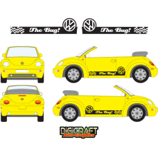 "VW BEETLE ""THE BUG!"" Graphics"