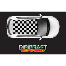 Universal Checkered roof graphics