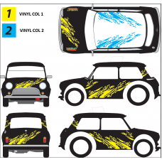 Universal Mud Splatter Full Decal Kit