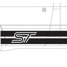 Universal Ford ST stripes
