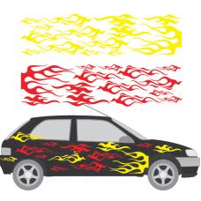 Universal Car Flames