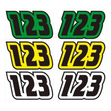 Jet Ski Numbers