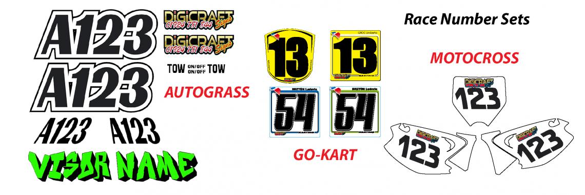 Race Number Sets