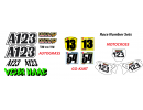 Race Number Sets